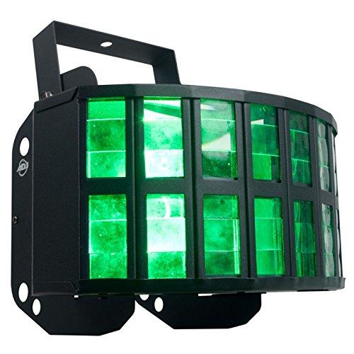 American DJ Aggressor Hex LED | HEX (6-in-1) LED technology, 2 x 12 watt LED source by American DJ
