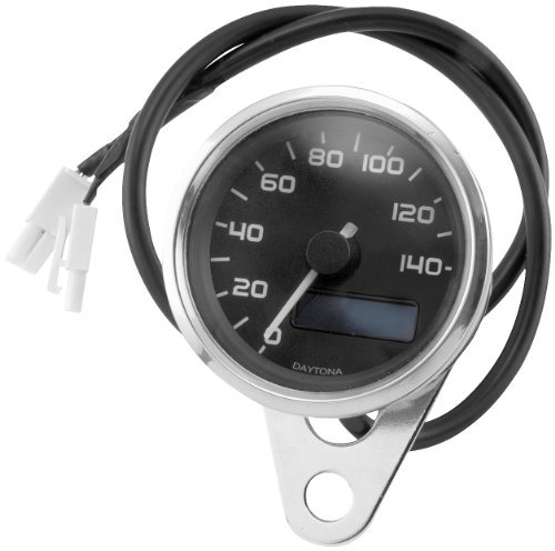 Bikers Choice Electronic Speedometer W/Blue Backlit LED by Biker's Choice