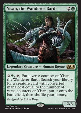 The 2 best mtg yisan the wanderer bard for 2020