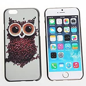 Mini - NIGHT Owl Design Premium Protective Cover On Protective Hard Shell Back Case For iPhone 6