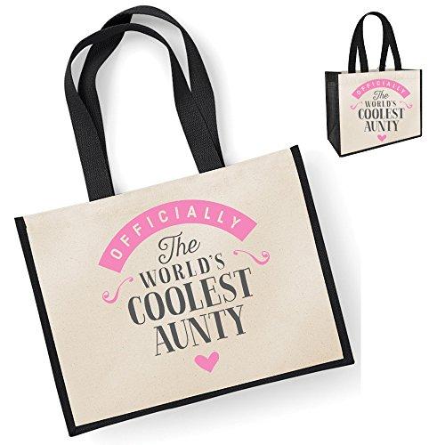 Aunty Aunty Bag Black Aunty Bag Aunty Aunty Aunty Gift Personalised Gifts Aunty Aunty Gifts Black Present Great Gifts From Birthday Funny Aunty Gift Niece Keepsake rwqrSvX