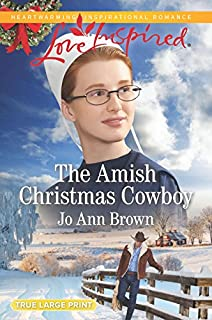 Book Cover: The Amish Christmas Cowboy