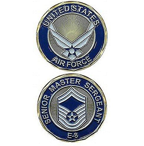 United States Airforce Senior Master Sargeant E-8 Military Challenge (E8 Senior Master)
