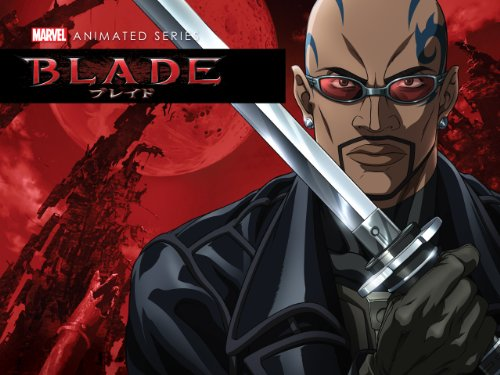Amazon Com Blade Anime Series Season 1 Harold Perrineau