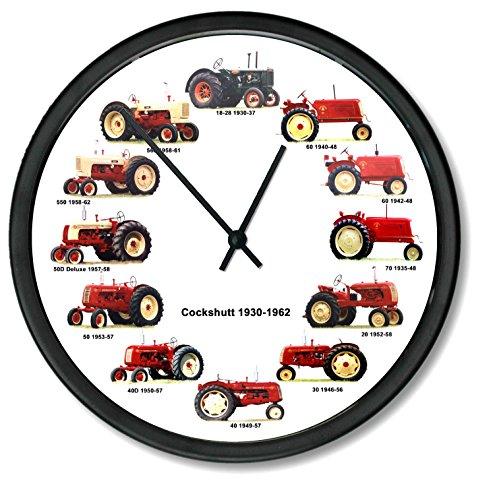 Cockshutt Tractor - New Cockshutt 1930-1962 Wheel Dial - 12 Tractors Clock 10