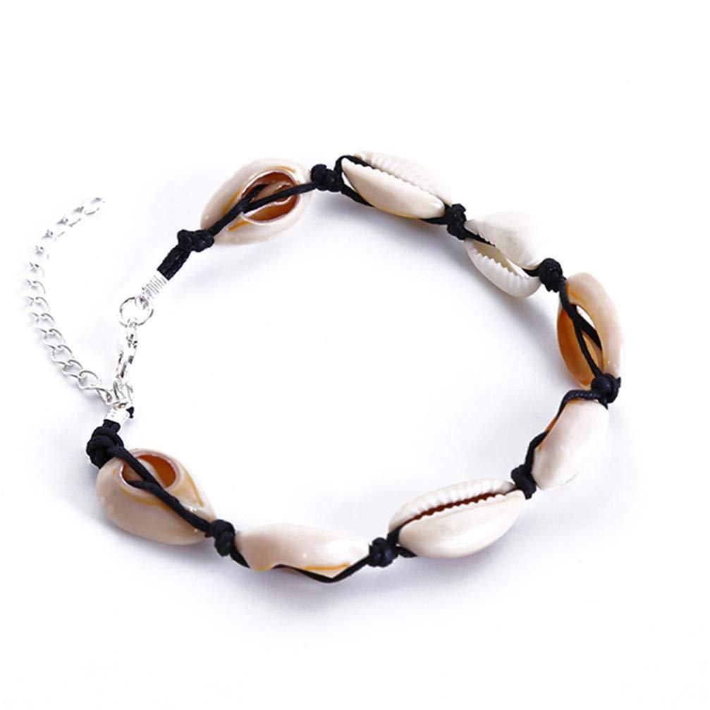 Myhouse Sea Shell Bohemian Beach Barefoot Anklet Bracelet for Women Girls