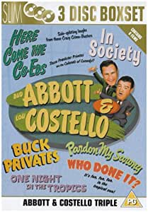 Abbott and Costello - Pardon My Sarong/Buck Privates [Import anglais]