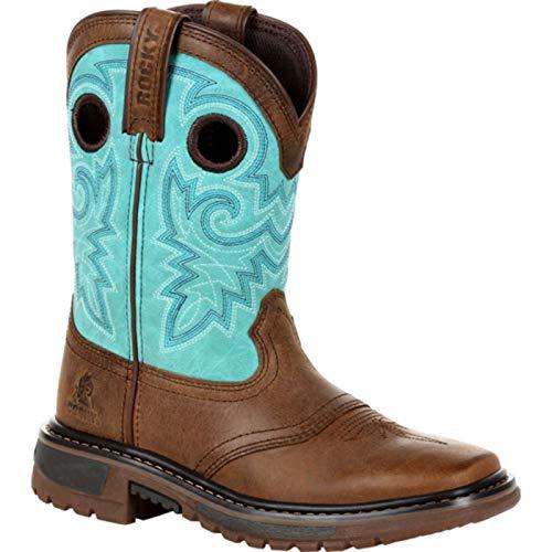 "Rocky Kids' Original Ride FLX 8"" Pull-On Western Boot"