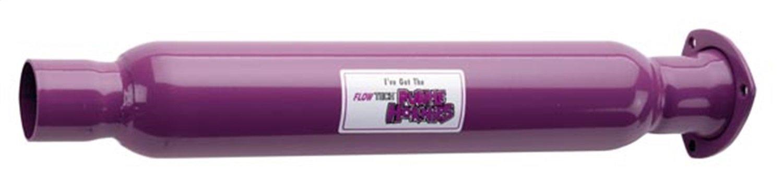 Flowtech 50230FLT Purple Hornies 3-Hole Header Muffler
