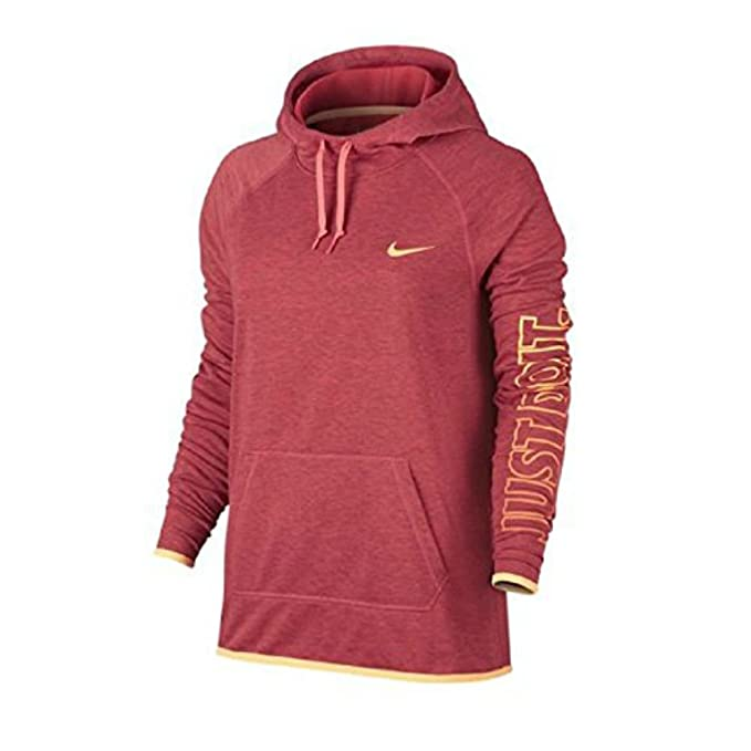 release date: high quality 50% price NIKE Womens Slogan Dry Fit Hoodie