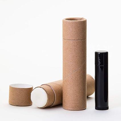Amazon com: 3/4 OZ Kraft Paperboard Lip Balm/Salve/Cosmetic