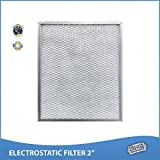 20 x 20 x 2 Lifetime Air Filter - Electrostatic, Permanent, Washable - For Furnace or AC - Never Buy Another Filter