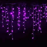 SDOUBLEM 4M 96 LEDs 8 Modes Curtain Window