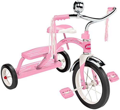 Radio Flyer Classic pink Dual Deck Tricycle Ride On