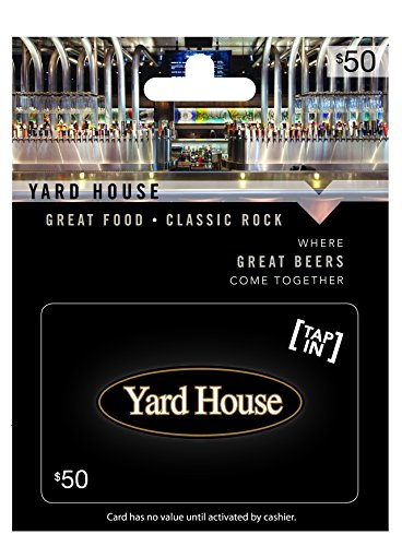 Yard House $50 Gift Card (Red Lobster Gift)