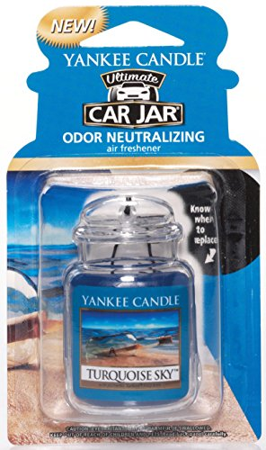 (Yankee Candle Car Jar Ultimate, Turquoise Sky )