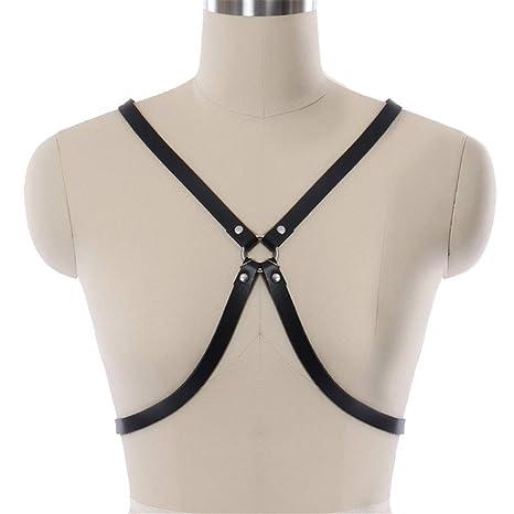 Arnés de tiras para mujer Las mujeres de cuero ajustable en forma ...