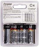 Energizer MAX C Alkaline Batteries, 4-Count