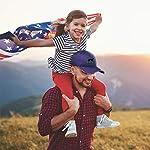 Custom American Flag Hat Border Collie Dog Embroidery Design Cotton 9