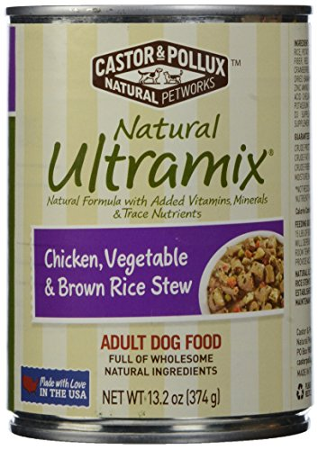 Price comparison product image Natural Ultramix,  Adult Dog Food,  Chicken,  Vegetable & Brown Rice Stew,  13.2oz