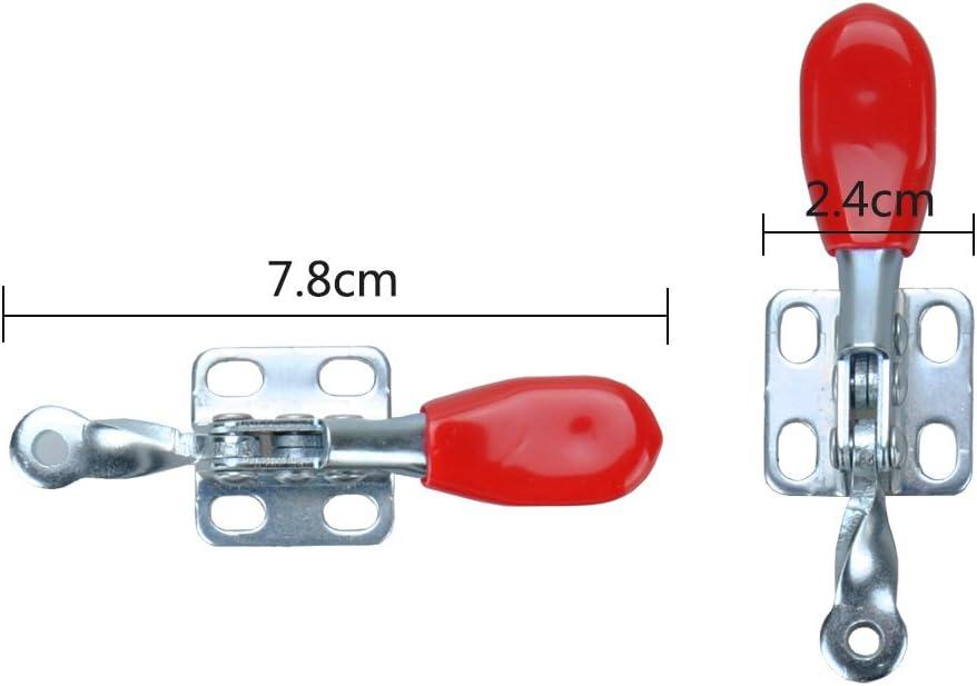 Imagine 201-A Lot de 4 pinces /à bascule antid/érapantes Rouge