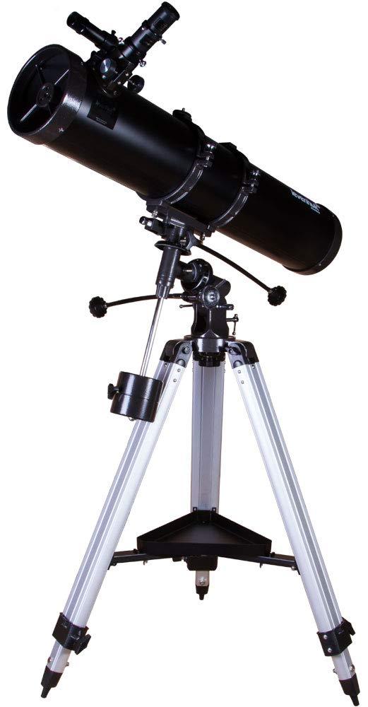 Levenhuk Skyline Plus 130S Telescope - Powerful Newtonian Reflector on Equatorial Mount for Deep Sky Observations by Levenhuk