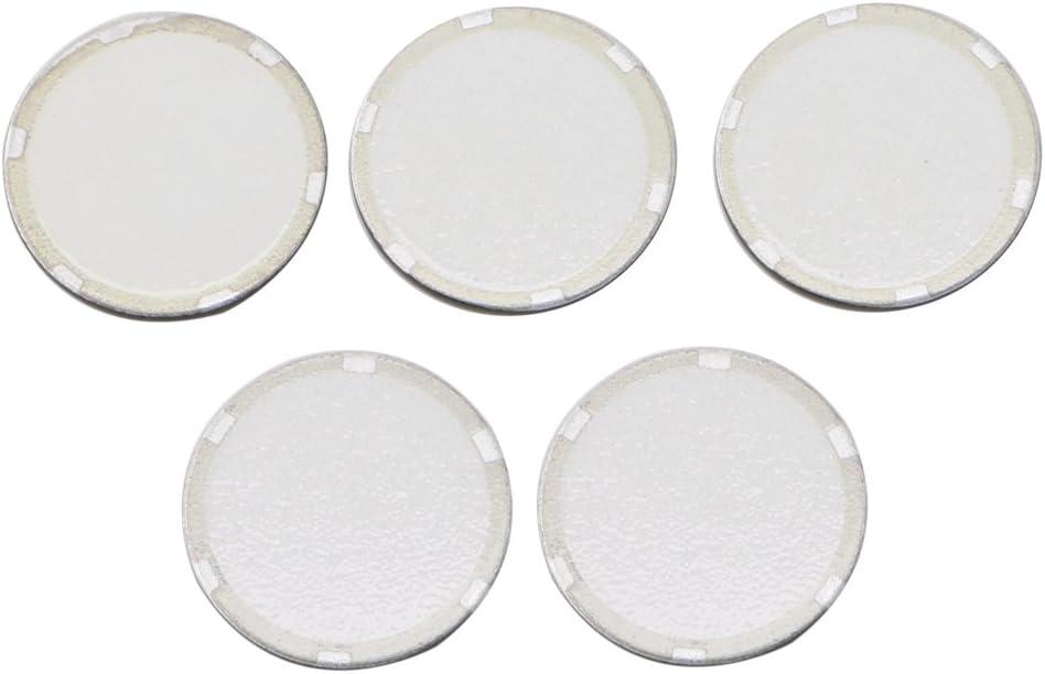 Ruda 5 unids Disco de Cer/ámica Ultras/ónico 16mm 0.63 pulgadas Fogger Hoja Atomizador Humidificador Accesorios Durable