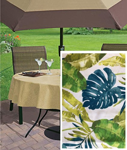 Patio Tablecloths With Umbrella Hole Home Design Ideas