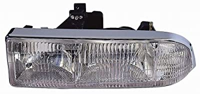 Chevy S10 Pickup Truck / Blazer 98-04 Headlight Assembly Lh US Driver Side