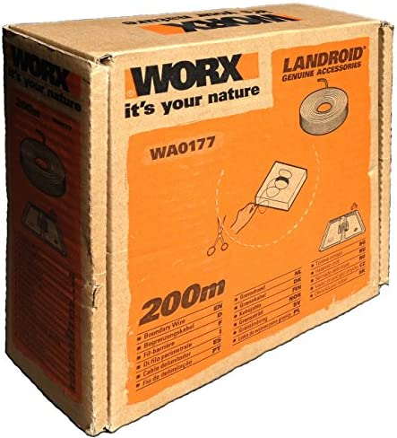 WORX câble périphérique pour Land Roïd Mähroboter 200m Lot de 1WA0177 - Home Robots