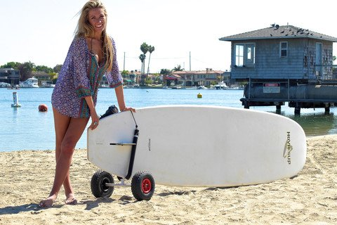 COR Board Racks / SUP Paddleboard Cart Carrier -2 Sizes and Fits All on board cart, carrier cart, collapsible dock cart, four paddlewheel cart, foldable kayak cart, skate cart, bike tow cart,