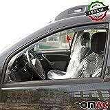 Omac GmbH Dacia Duster Windabweiser Regenabweiser 2 tlg Satz Vorne ab 2014
