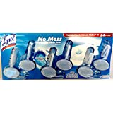 Lysol No Mess Automatic Toilet Bowl Cleaner Value Pack, Ocean Fresh scent, 6 Count