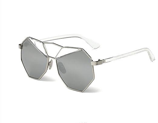 Wer Fahre Ich Unregelmäßiges Vieleck Polarisierte Sonnenbrille Im Freien,SilverFrameIceBlue