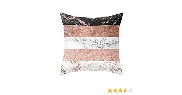 Fundas De Cojines, ❤️Xinantime Funda de almohada geométrica de textura de mármol Fundas de colchón Sofá Decoración (❤️Multicolor A)