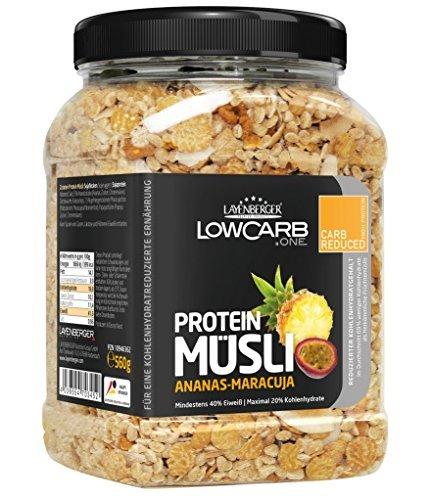 Lowcarb.one - Protein Müsli Ananas-Maracuja - 560g