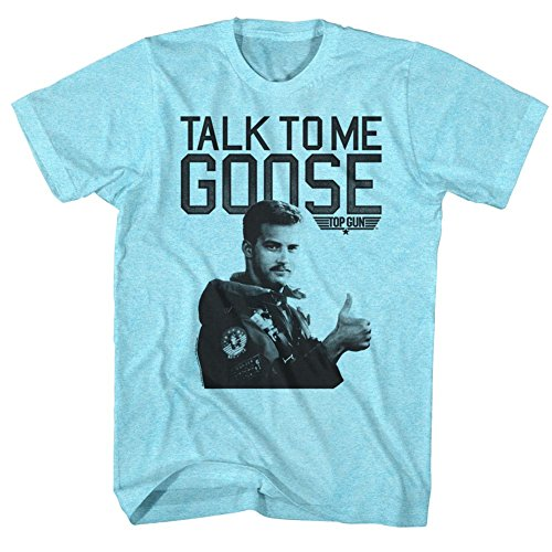 Men's Talk To Me Goose Blue T-shirt - S to XXL