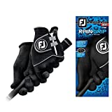 New Improved Footjoy RainGrip Gloves (1 Pair) Rain Grip (Men's Cadet Medium)