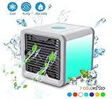 air cooler and humidifier - AIVANT Personal Air Cooler, USB Powered Portable Air Conditioner Evaporative Air Cooler/Humidifier, Ideal for Office, Bedroom, Outdoor