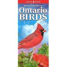 Ontario Birds (Pocket Nature Guides Series) by Helene Dobrowolsky (2013-07-30)