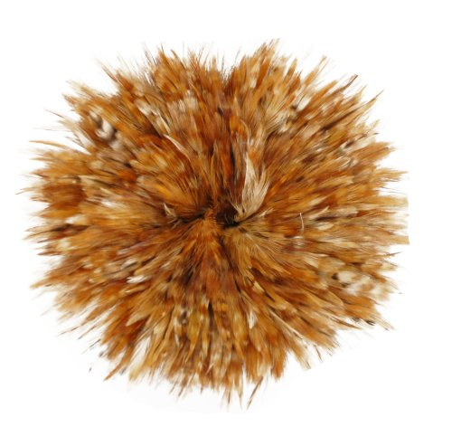 Zucker Feather Products Strung Red Chinchilla Saddles Feather