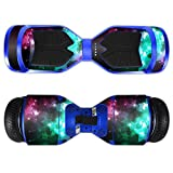 MightySkins Protective Vinyl Skin Decal for Swagtron T3 Hover Board Self Balancing Smart Scooter wrap cover sticker skins Glow Stars