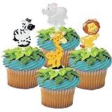 Zoo Animal Cupcake Picks - by Bakery Supplies (48-Pack)