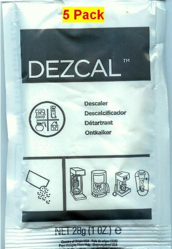Urnex Dezcal 5 Pack (Commercial Steam Cleaning Equipment)