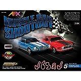 Toys : Muscle Car Shootout Set w/Digital Lap Counter, 23'