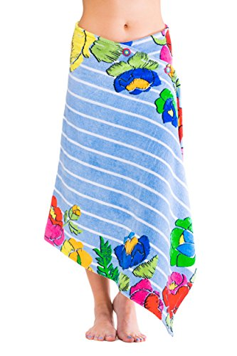 Simple Sarongs Womens Beach Towel Swimsuit Cover-up Wrap All-in-One