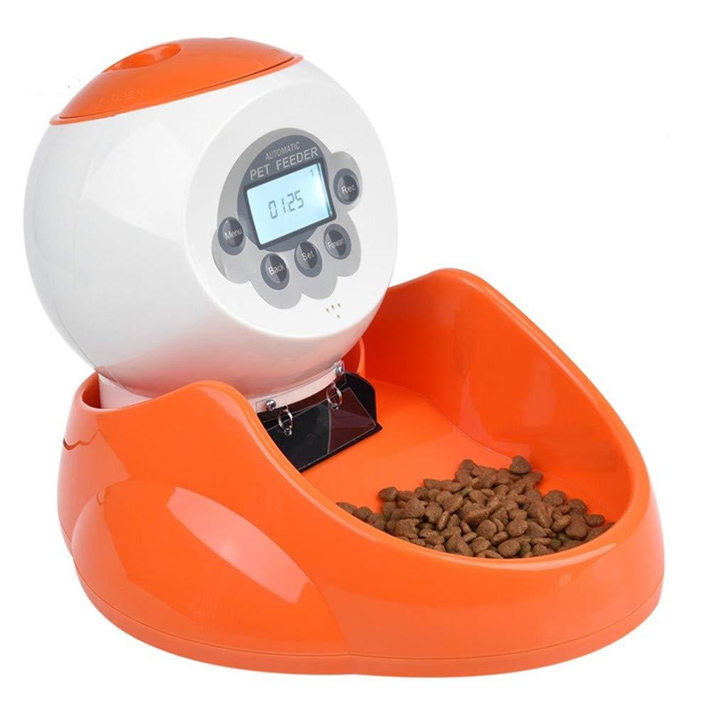 LCPG Alimentatori Automatici Possono Essere registrati Timing Quantitative Pet Dog e Cat Alimentatore Elettrico Cat Forniture per Animali Domestici Intelligenti
