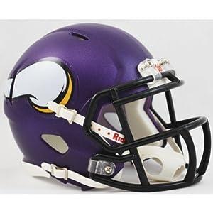 NFL Minnesota Vikings Speed Mini Helmet