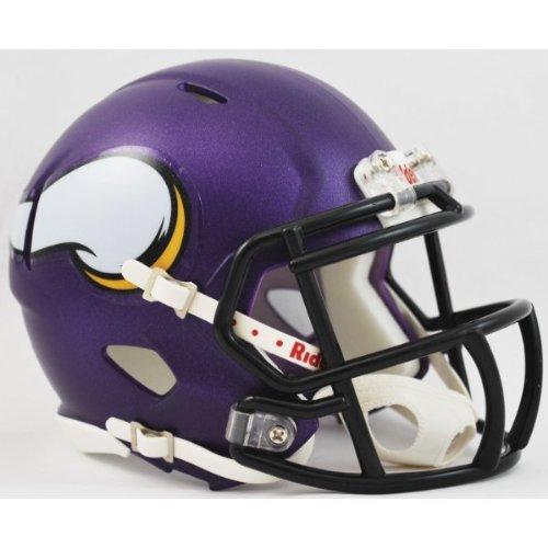 NFL Minnesota Vikings Speed Mini Helmet - Minnesota Vikings Official Helmet Shopping Results