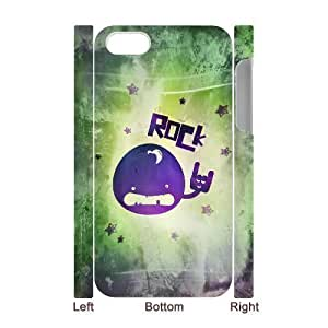 3D Bumper Plastic Case Of Rock & Roll customized case For Iphone 6 plus 5.5